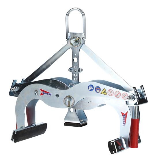 BORDER STONE HANDLE EXG-MAXI SWL 550kg RANGE 0-400mm