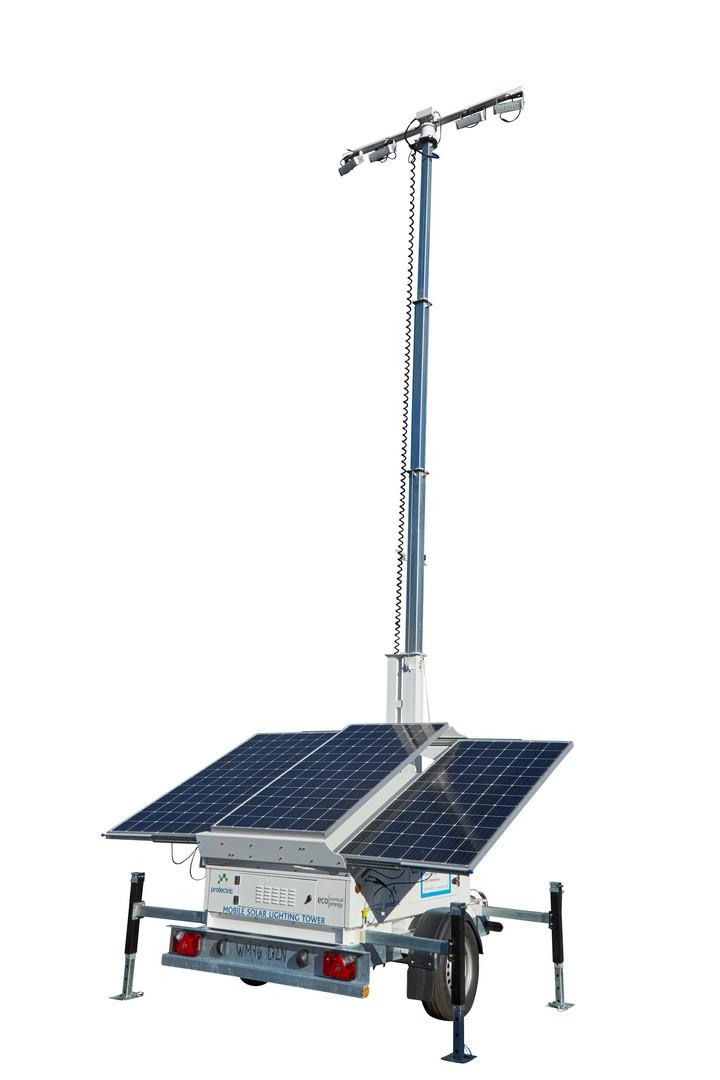 Pro Light Mobile Solar Lighting Tower