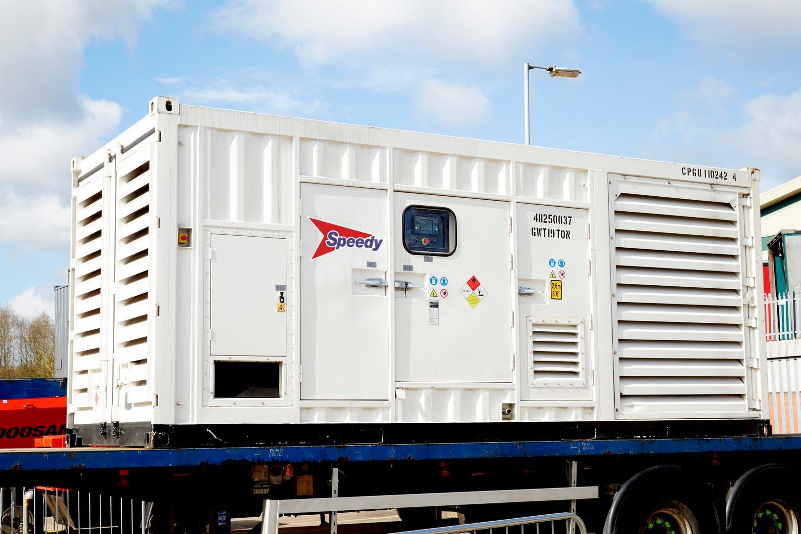 1260 Kva Generator 415/3/50 Mwk60hr Rate