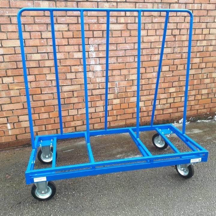 4-Wheel Board Trolley 350Kg SWL