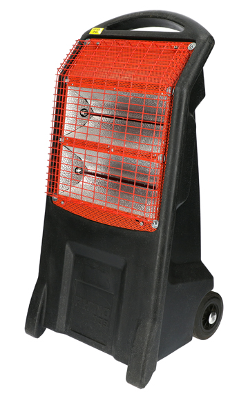 Rhino TQ3 H029300 2.8kW Infrared Heater 110v 14.3Kg