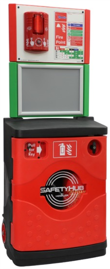 Howler SP SHR0 1.56m Maxi Mobile Fire Point Trolley