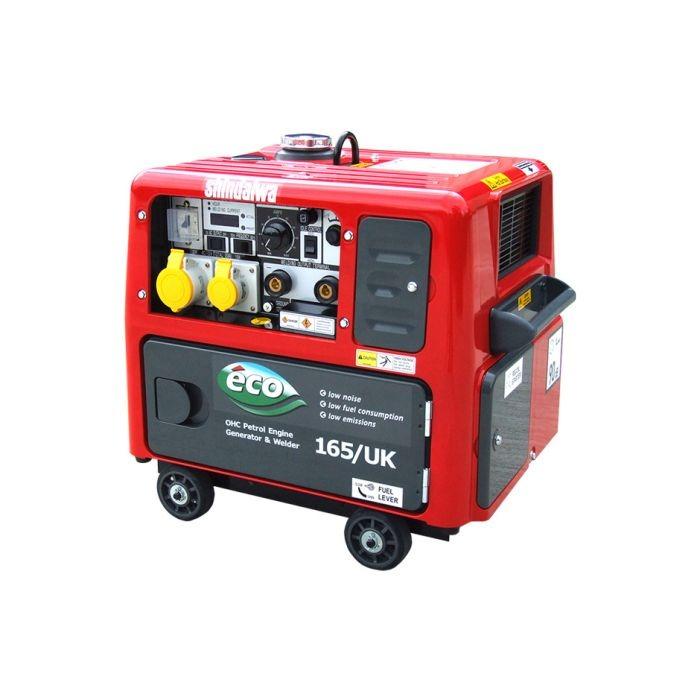 Shindaiwa ECO165/UK Welder Generator Petrol 88Kg
