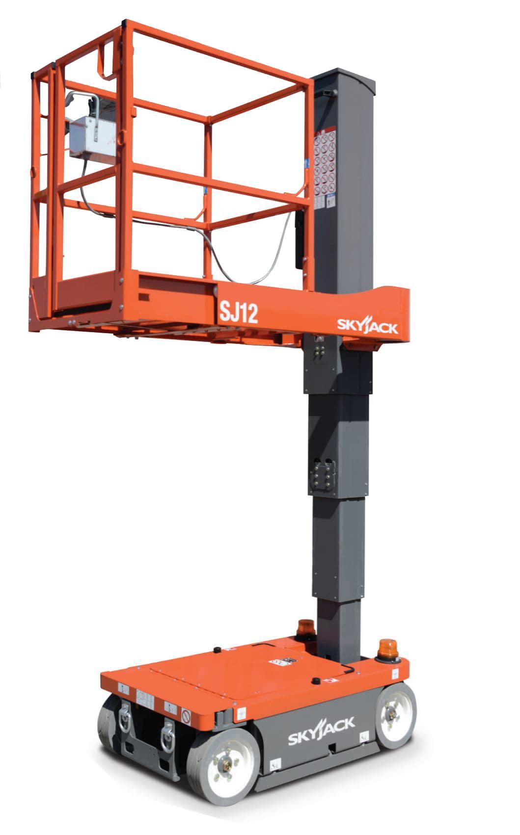 Skyjack Sj12 5.6m Mast Lift 227kg Capacity