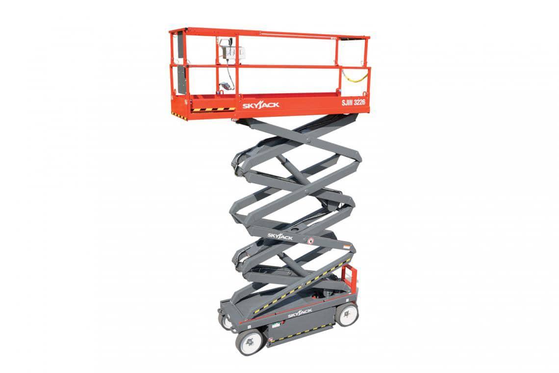 Skyjack Sj3226 9.9m (26ft) Scissor Lift 227kg Capacity