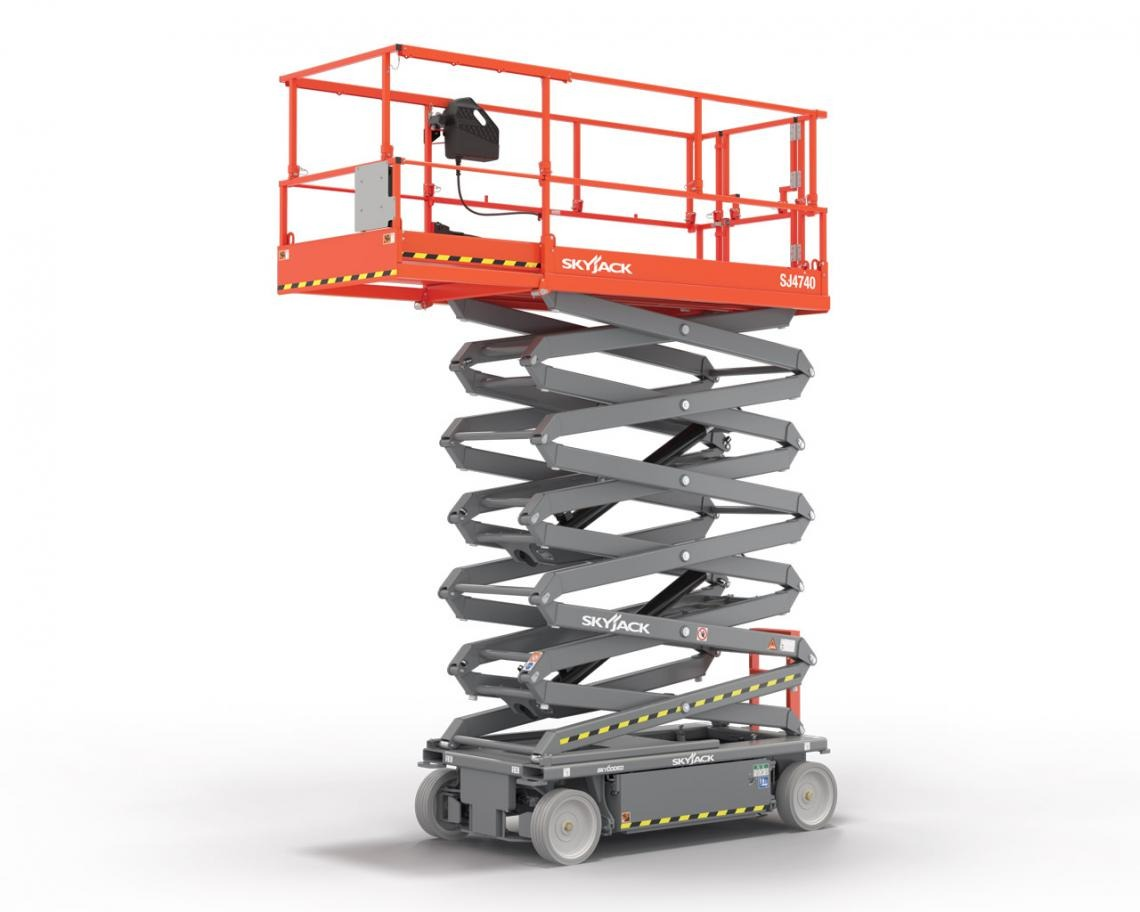 14m Electric Scissor Lift Narrow