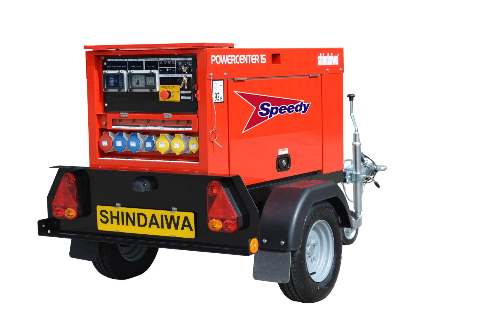Silenced Generator Diesel 15kva