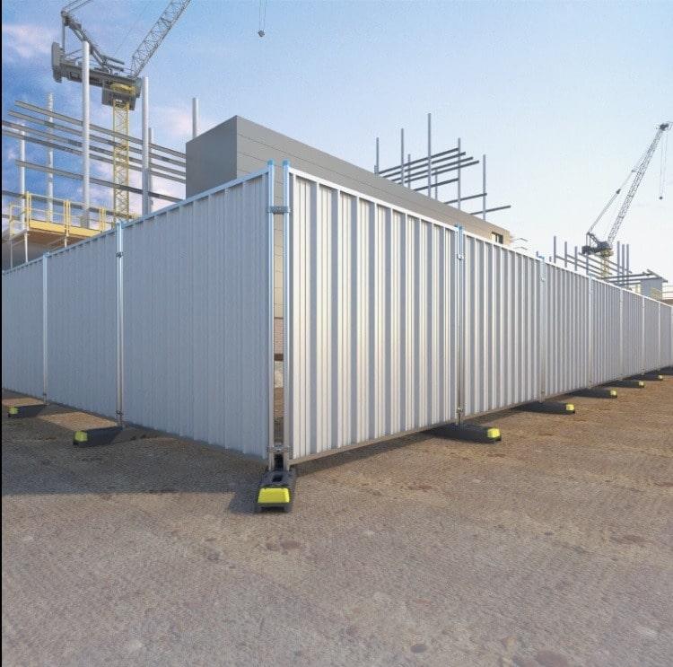 Steel Hoarding Panel 2.14m 25.3Kg