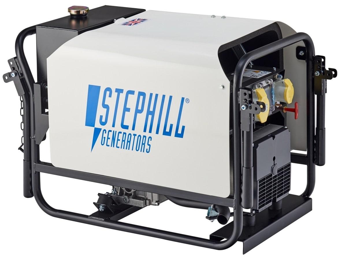 Stephill RT4000DLMC 4.0 kVA Diesel Generator 110v 84Kg
