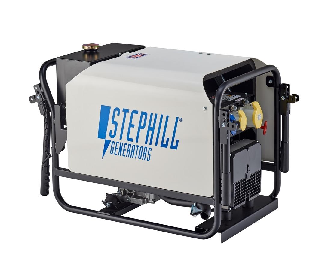 Stephill SE4000DL Silent 4kVA Diesel Generator c/w Trolley 84Kg