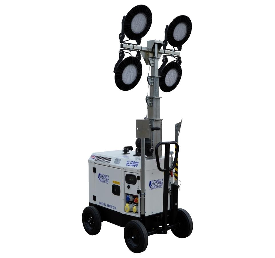 Stephill SLT5000 5.4m LED Lighting Tower Diesel 395Kg