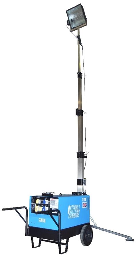Stephill SLT6000D5 5.5m Metal Halide Lighting Tower Diesel 295kg