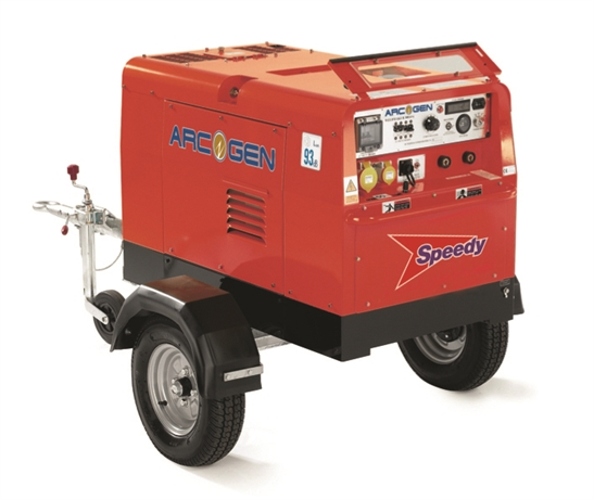 Diesel Welder 600amp 1dyhr Rate