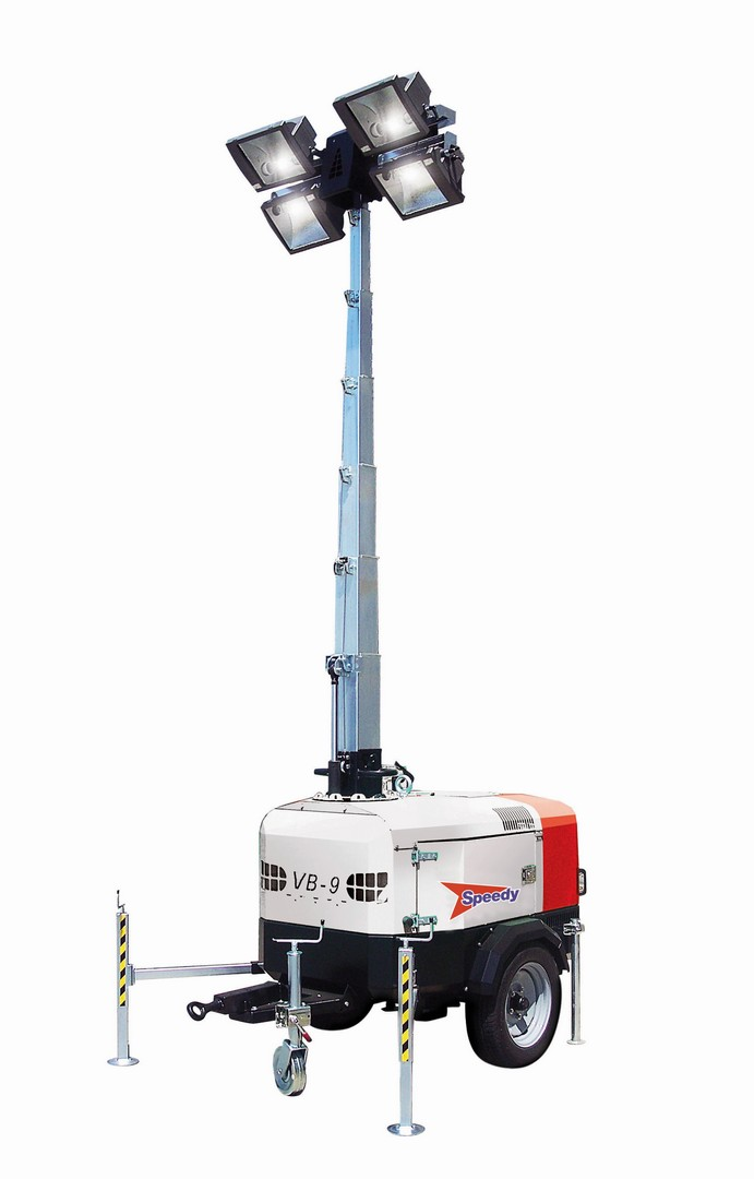 VB9 Lighting Tower 9m