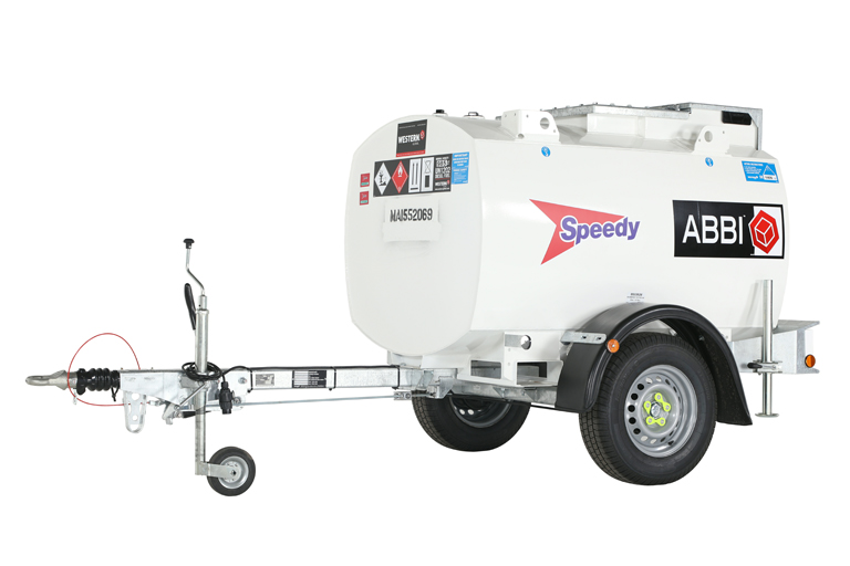 Western Global H210AC-E-K Abbi Highway 1000L Fuel Bowser - Towable