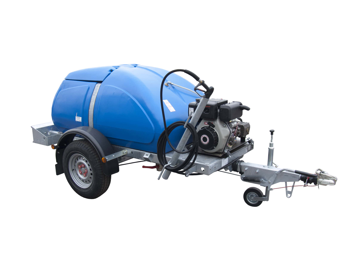 Western Global H250PWW 1100L Washer Bowser Towable Diesel 350Kg