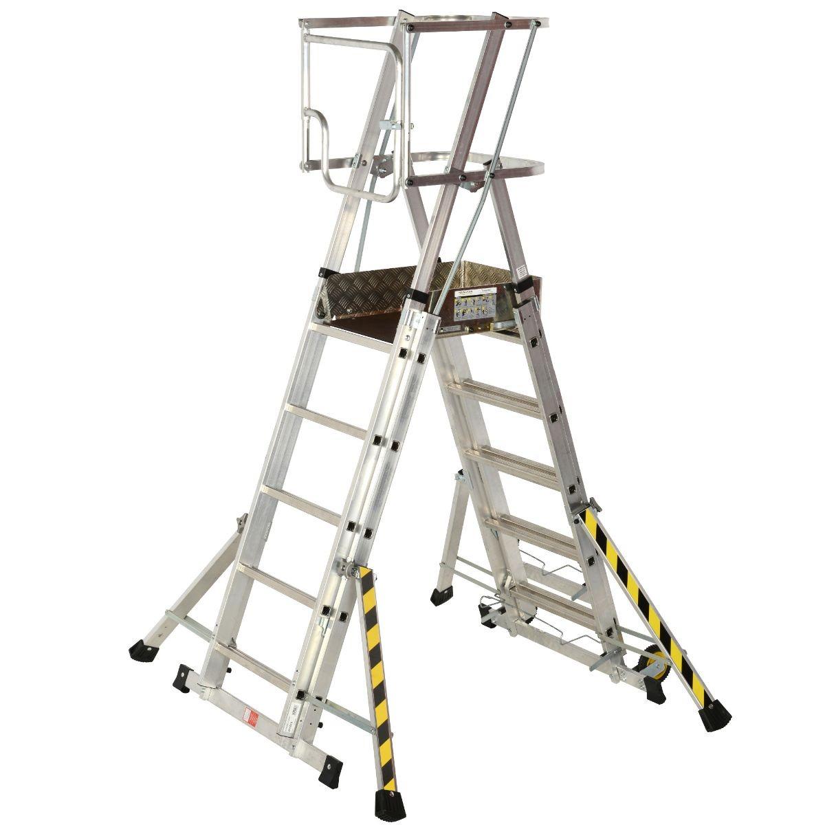 Youngman 31851500 Teleguard 5-8 Rung Combination Ladder 42Kg
