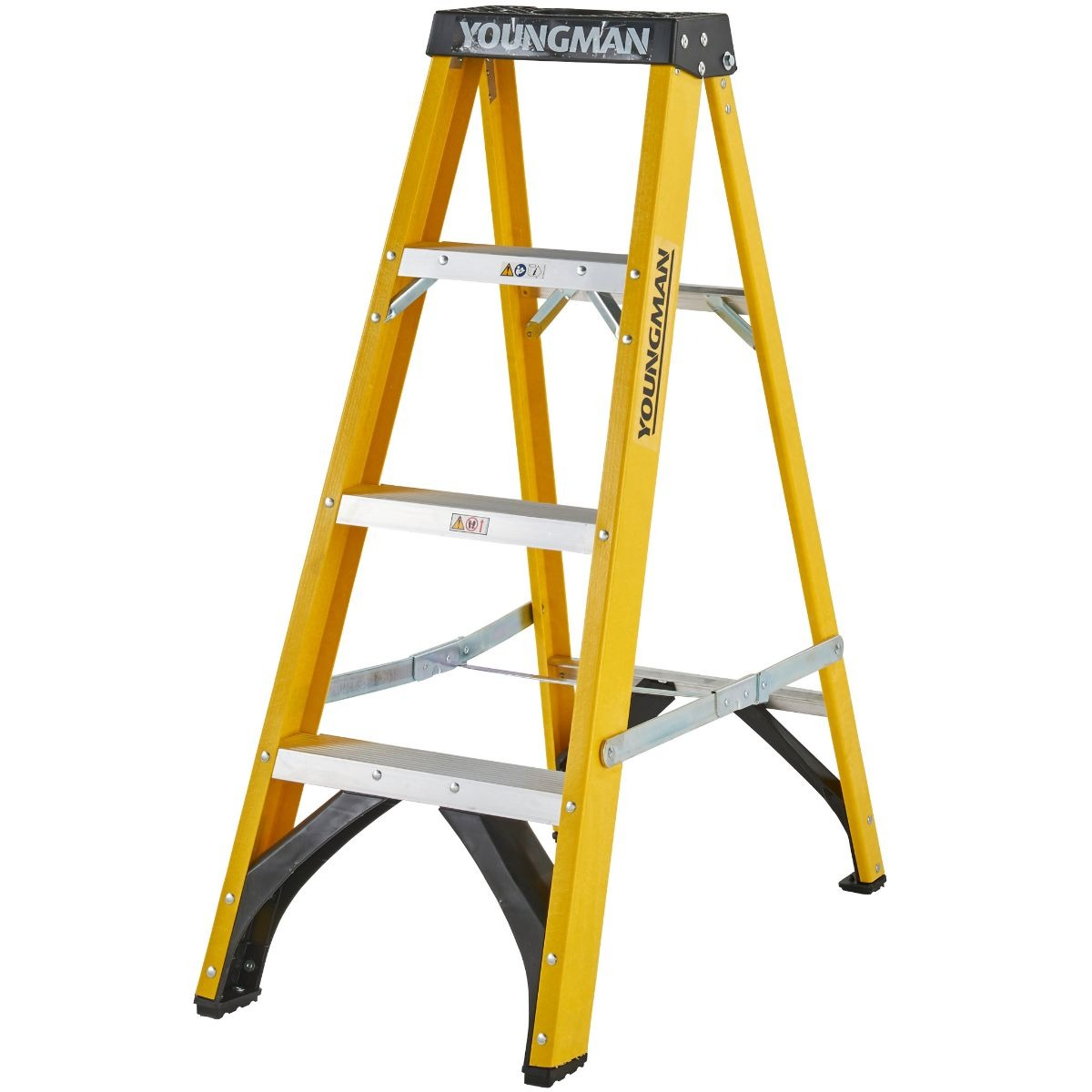 Youngman 527444 S400 1.2m Stepladder 6.79Kg