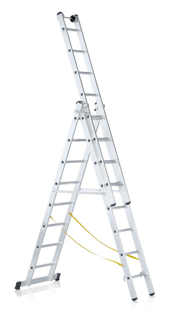 ZARGES 3 X 6 RUNG SKYMASTER COMBINATION LADDER