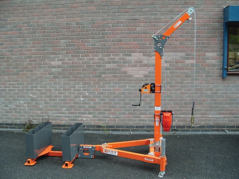Counterbalanced Davit System WLL 250kg
