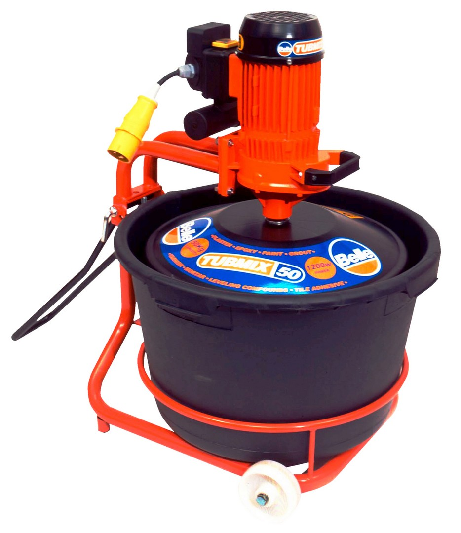 Belle Tubmix 50 Paddle Mixer - 230v