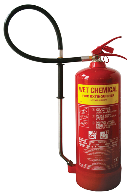 Fire Extinguisher - Wet Chemical 6 Litre