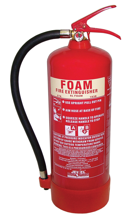 Fire Extinguisher - Foam 6 Litre