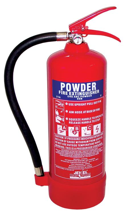 Fire Extinguisher - Dry Powder 6Kg