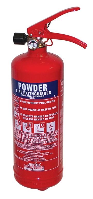 Fire Extinguisher - Dry Powder 2Kg
