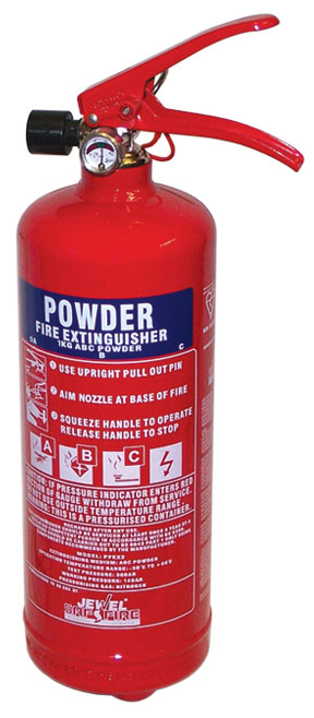 Fire Extinguisher - Dry Powder 1Kg