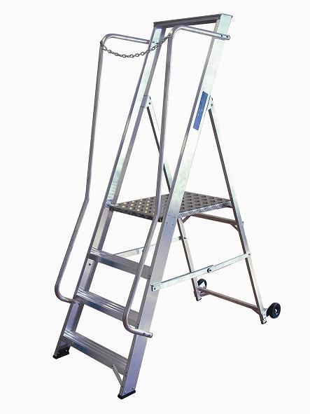 Lyte Extra Wide Class 1 Aluminium Steps - 2 Tread