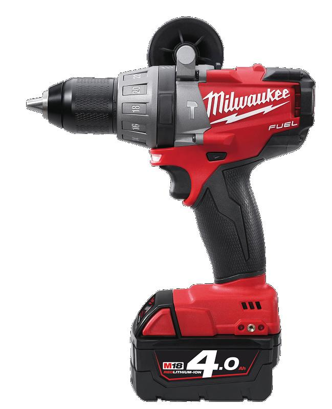 Milwaukee Fuel M18CPD-402C  Percussion Drill