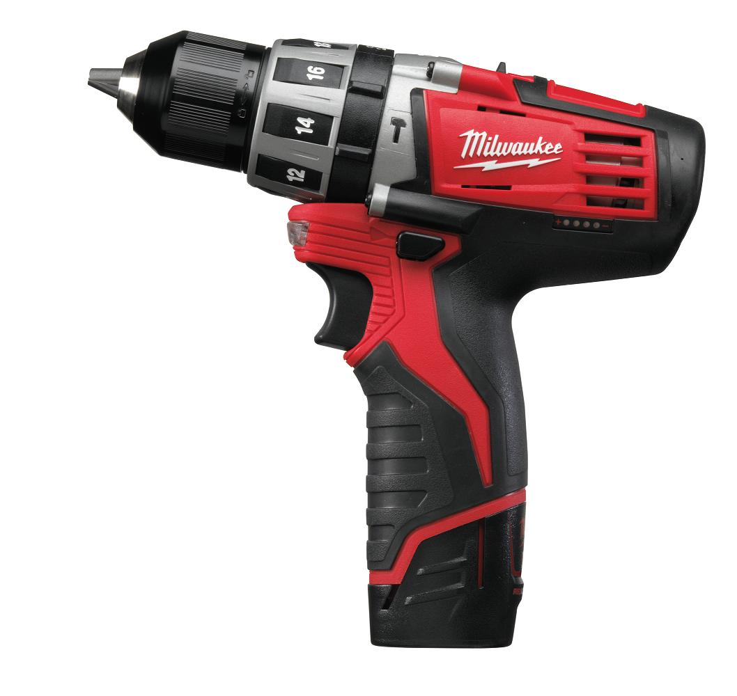 Milwaukee C12PD202C M12 Fuel Compact Percussion Drill
