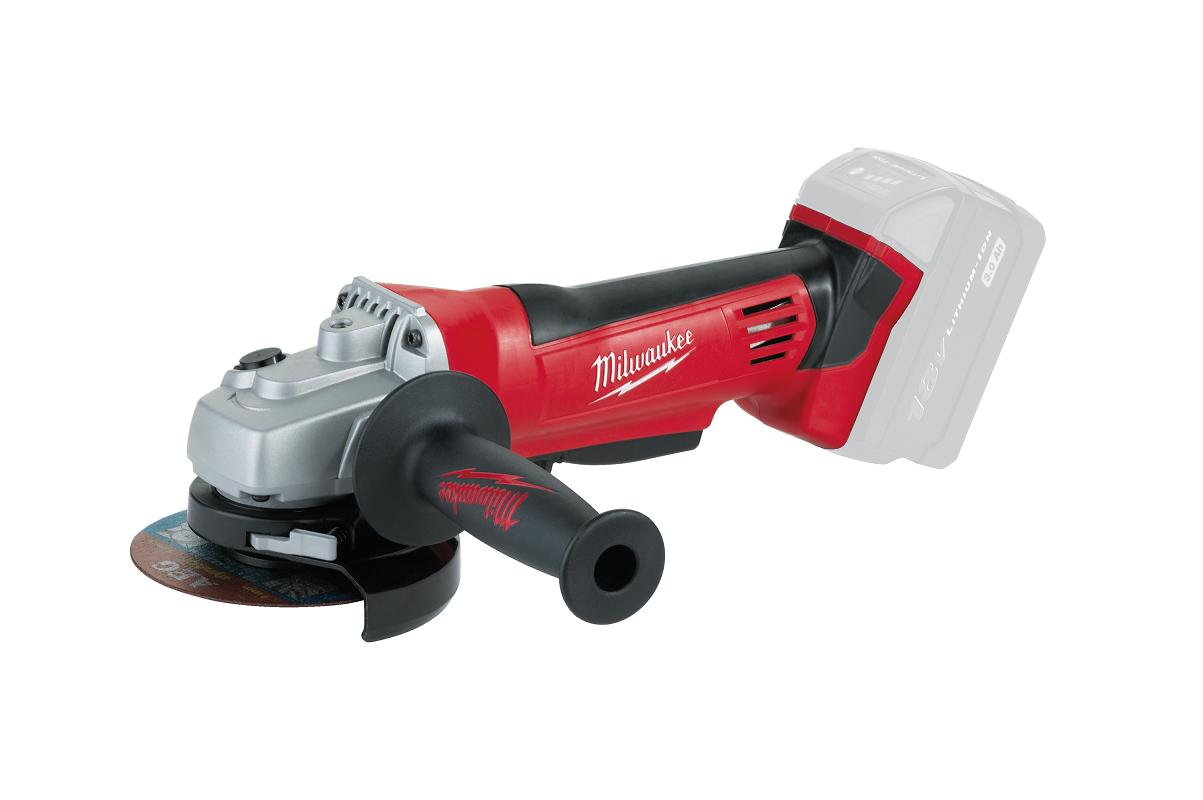 Milwaukee HD18AG 115mm Cordless Angle Grinder - Naked