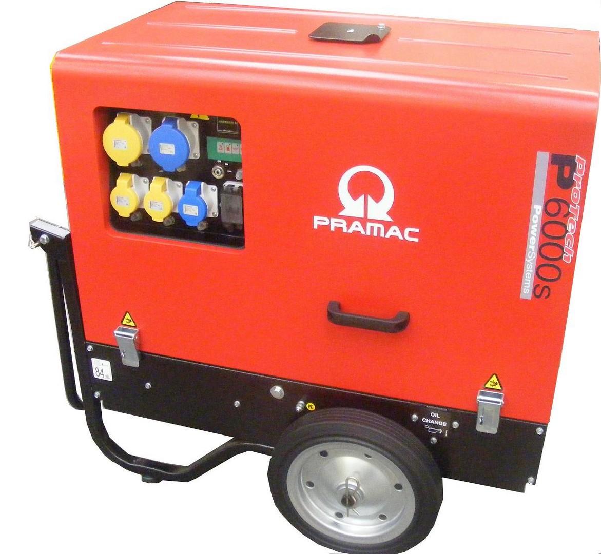 Super Silent Diesel Generator 4.8Kva - Dual Voltage
