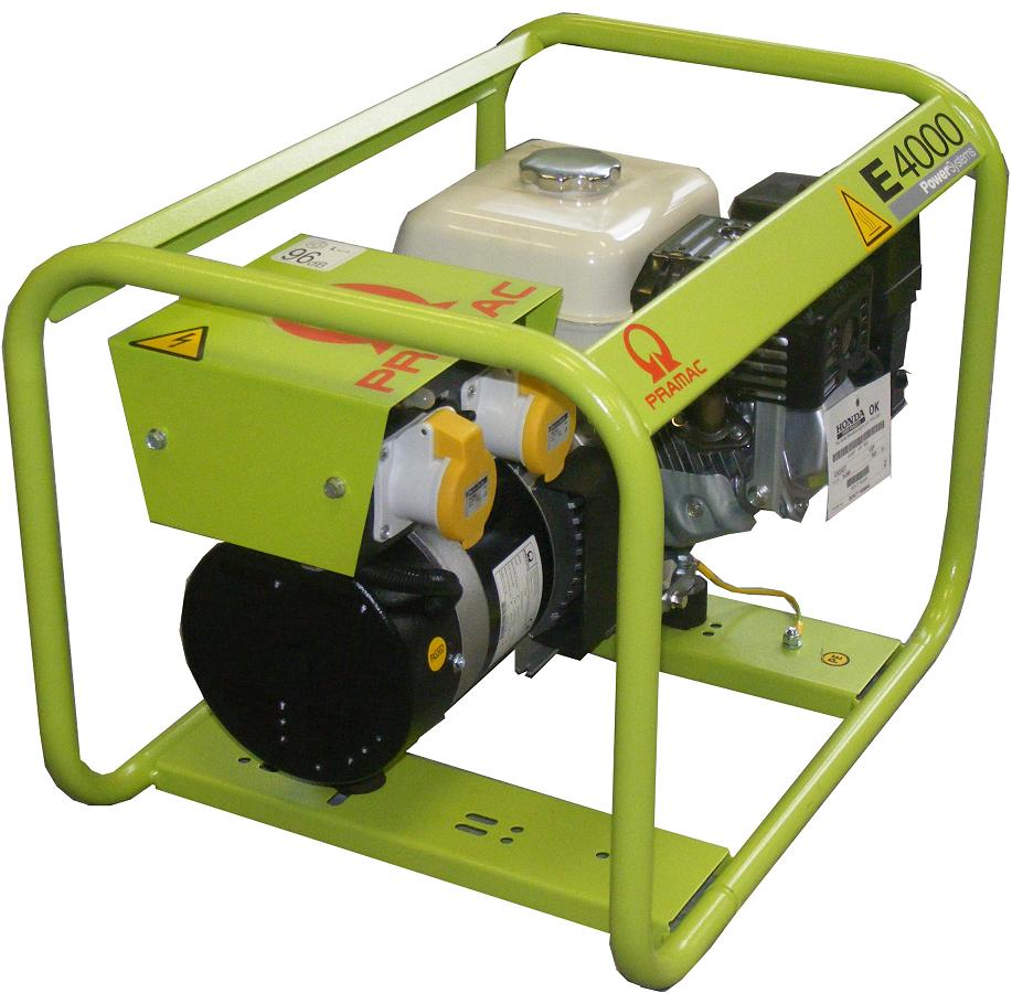 Portable Petrol Generator 3.5Kva - Dual Voltage