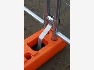 Anti-Lift Bracket For Temporary Fences