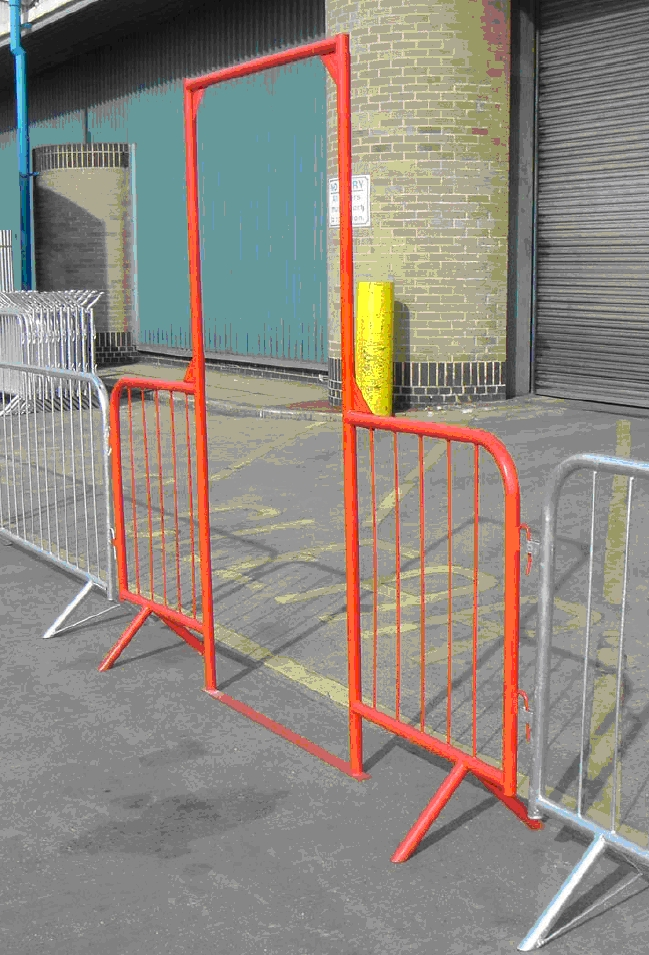 Crowd Control Barrier Walkway (Fixed Leg) - 2.5m