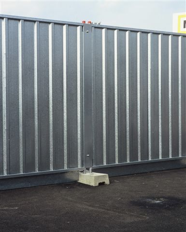 Steel Hoarding Panel - 2.1m x 2.1m