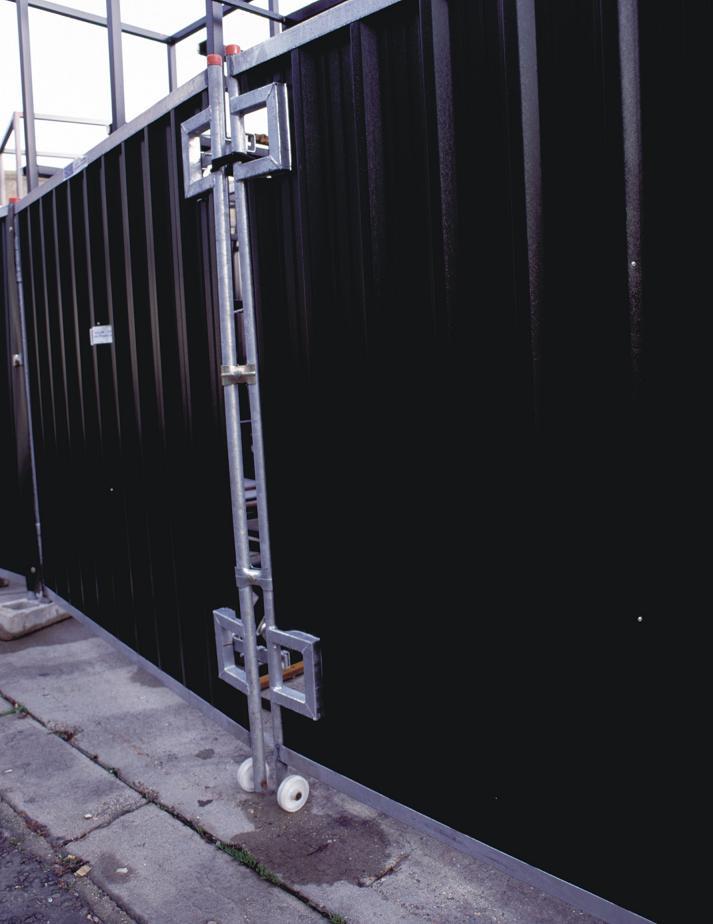 Steel Hoarding Vehicle Gate - 2.1m x 4.3m