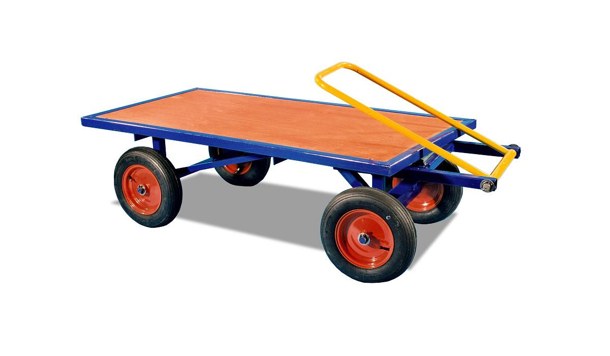 Turntable Truck With Solid Tyres - 1t WLL