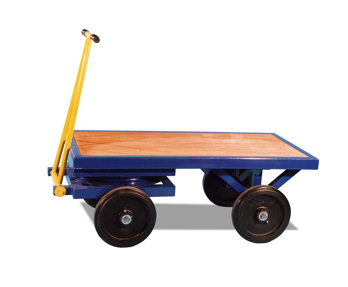 Turntable Truck With Solid Wheels - 2 Tonne WLL