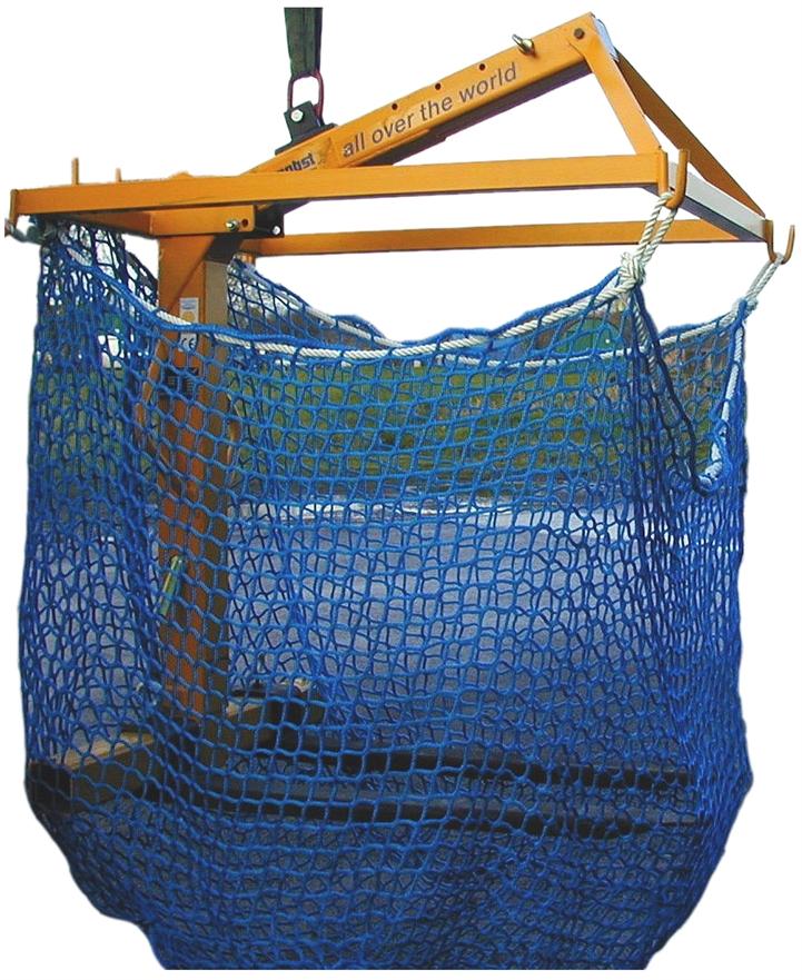 Pallet Forks 1500kg SWL c/w Net