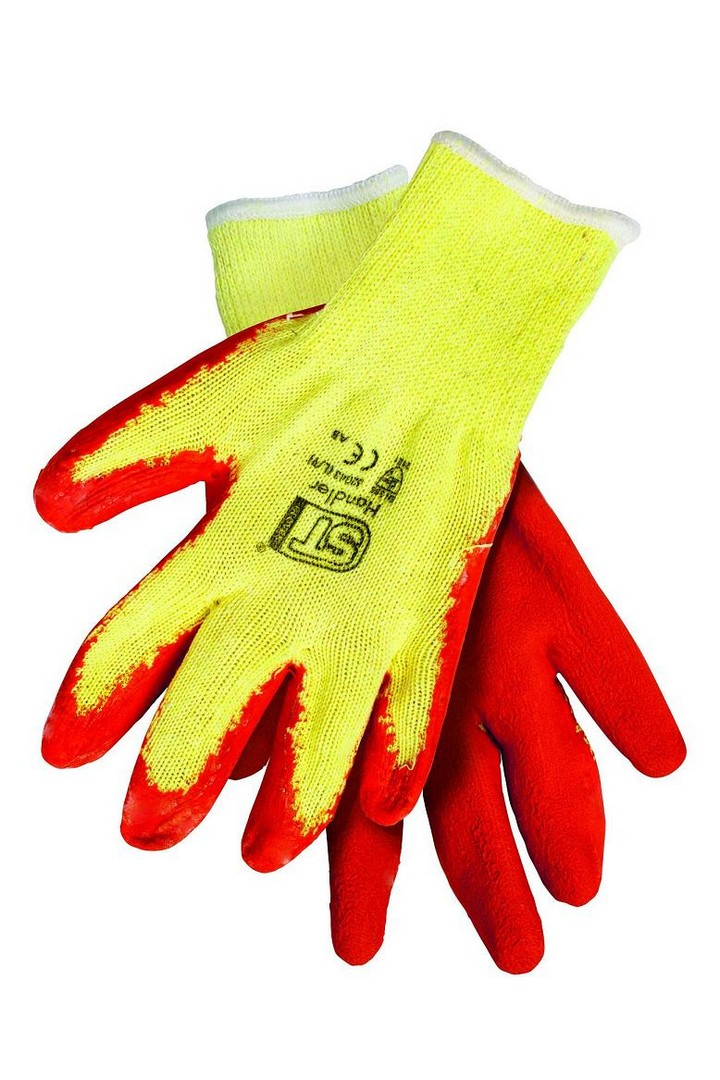 Latex Coated Grip Glove- Size 10