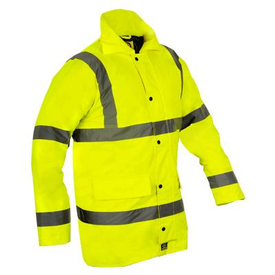 Parka Coat - Yellow - EN471 - XXL