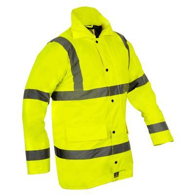 Parka Coat - Yellow - EN471 - XXXXL