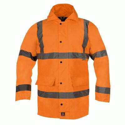 Parka Coat - Orange - EN471 - XXXL
