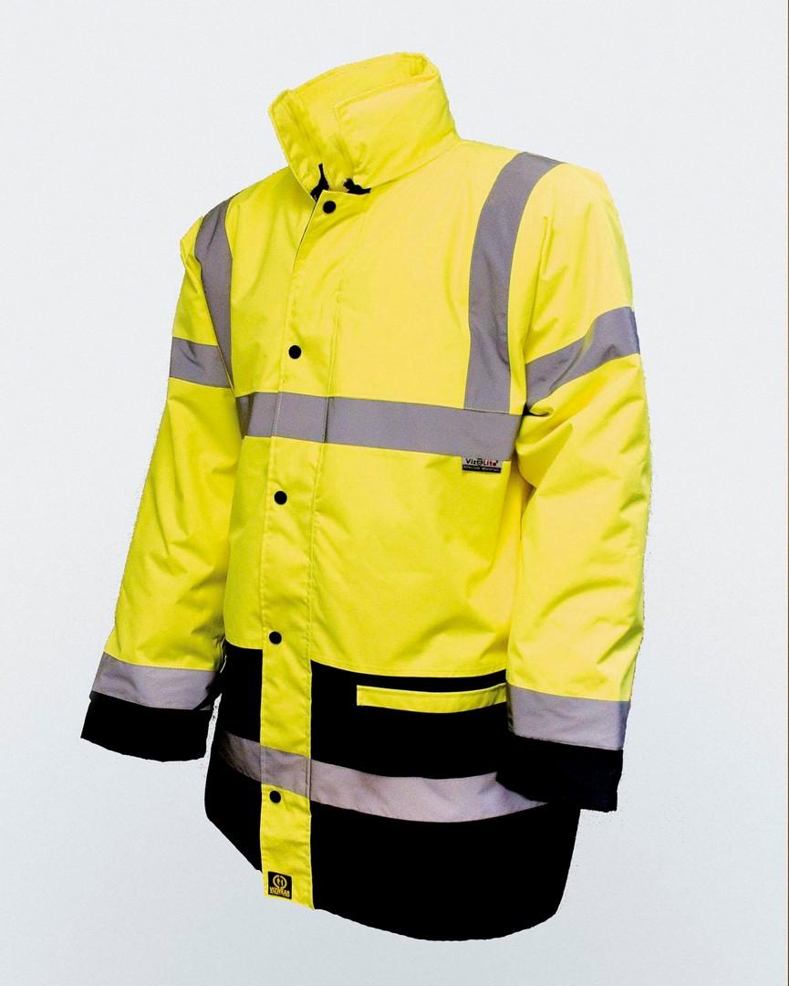 Parka 2 Tone - Yellow / Navy - EN471 - L