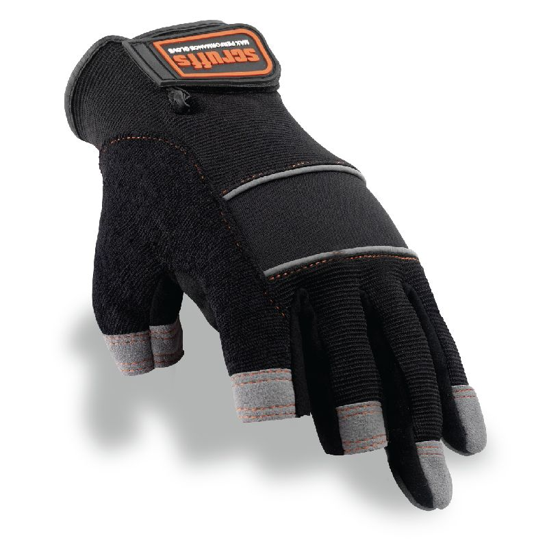 Scruffs Max Performance Precision Gloves Black/Grey