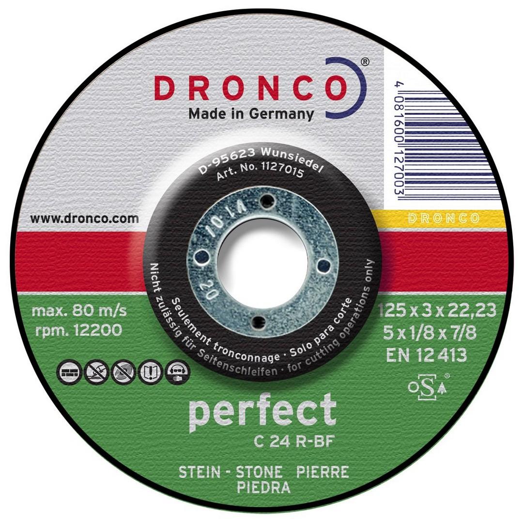 Dronco Stone Cutting Disc DPC - 125 x 3 x 22.23mm